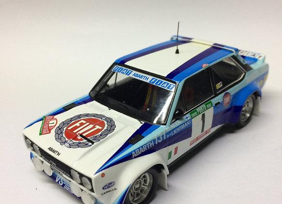FIAT 131 ABARTH #1 1ST R PORTUGAL 81