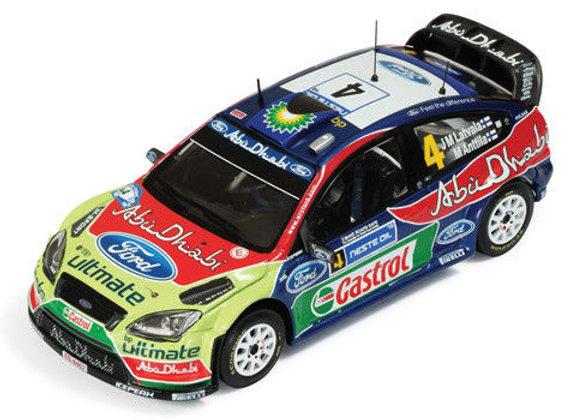 FORD FOCUS WRC 09 #4 LATVALA WINNER R.FINLAND 2010