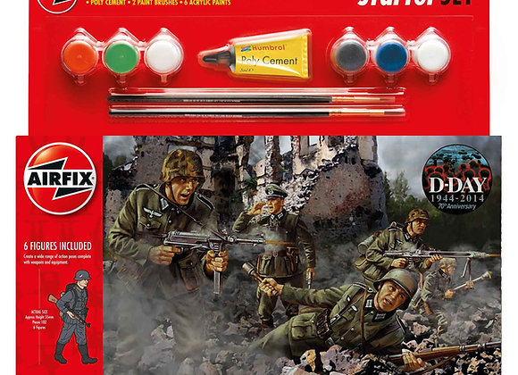 AIRFIX D DAY MULTIPOSE WWII GERMAN INFANTRY 1/32