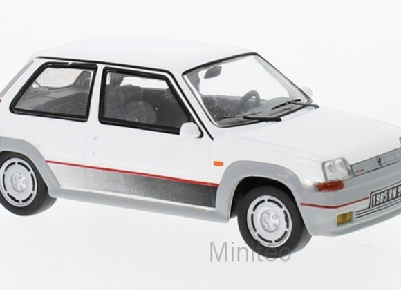 Renault 5 GT Turbo, white, 1985