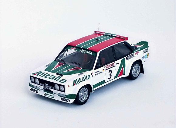 Fiat 131 Abarth Walter Röhrl / Christian Geistdorfe 1st Critérium du Québec 1978