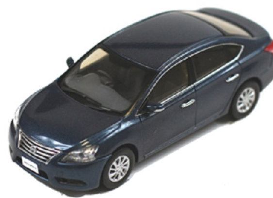 NISSAN Sylphy 2013 Steel Blue -J Collection 254