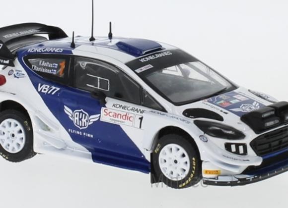 RAM708FORD FIESTA WRC N.1 R. ARTIC LAPLAND W/ NIGHT LIGHTS
