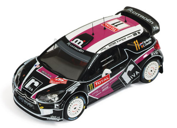 CITROEN DS3 WRC #11 CHEVALIER Rally MC 2012