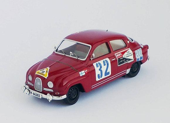 Saab 96 - 1st 1000 Lakes Rally 1963: Simo Lampinen / Ahava Jyrki