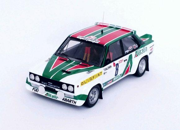 Fiat 131 Abarth - Timmo Salonen 1st Critérium Molson du Québec 1977