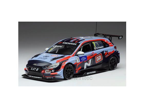 IXOGTM139 Hyundai i30 N TCR, No.1, squadra Corse team, WTCR, G.Tarquini, 2019
