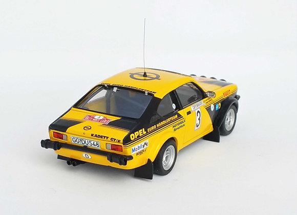 Opel Kadett GT/E #3 - Monte-Carlo Rally 1976: Hannu Mikkola / Claes Bil