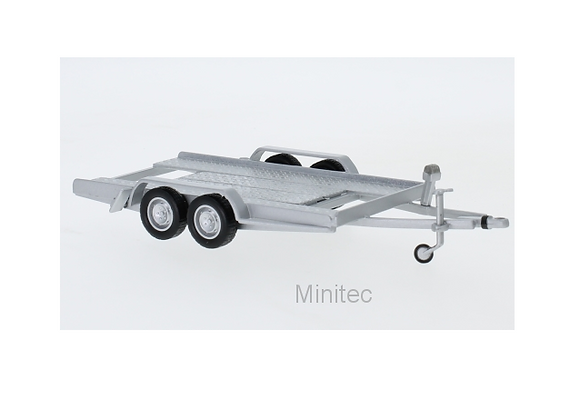 Autotrailer, silver