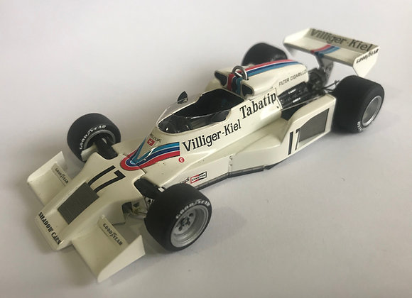 SHADOW - F1 DN8 N 17 WINNER GP AUSTRIAN 1977 A.JONES    Thiswayup