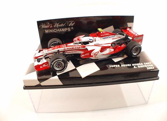 SUPER AGURI F1 SA07 DAVIDSON 2007
