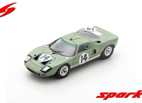 FORD GT40 NO.14 24H LE MANS 1965 J. WHITMORE - I. IRELAND