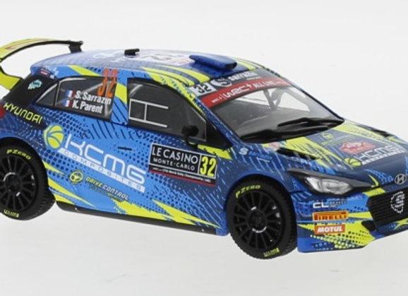 Hyundai i20 R5 N.32 Rallye Monte Carlo S.Sarrazin/K.Parent 2020 - RAM754