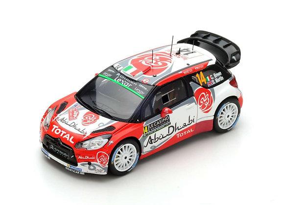 CITROËN DS3 WRC NO.14 5TH CITROËN TOTAL ABU DHABI WRT - C. BREEN - S.MARTIN