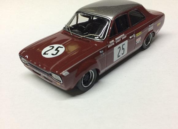 FORD ESCORT MK1 1600 TGC 1968 BRITISH SALOON CAR CHAMPIONSHIP J. FITZPATRICK