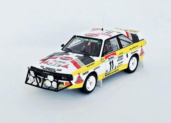 Audi Sport Quattro - Bandama Rally 1985: Franz Braun / Arwed Fischer