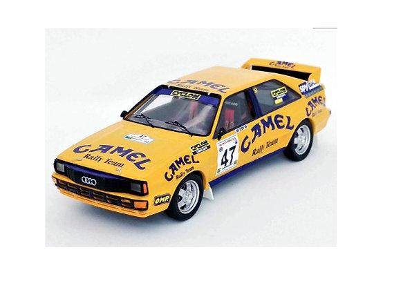 TRFRRgr02Audi quattro - 1st Fthiotidas Rally 1990: Iaveris / El-Em