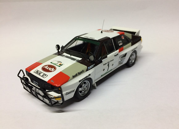Audi quattro - 2nd. R.Bandama 1983: Hannu Mikkola