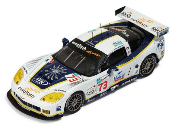 CORVETTE C6.R #73 LMGT1 6th Le Mans 2008
