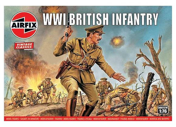 AIRFIX WWI BRITISH INFANTRY 1/72