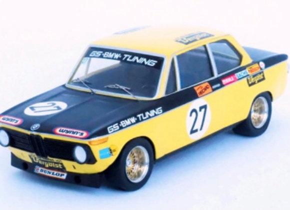 RRde31 BMW 2002-4th(1st in class)6H Nürburgring 1972 Dieter Basche/Jürgen Barth