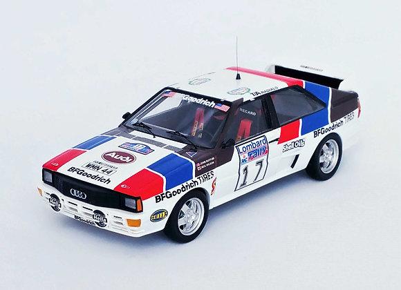 RUK64 Audi Quattro -RAC Rally 1984 John Buffum/N. Wilson