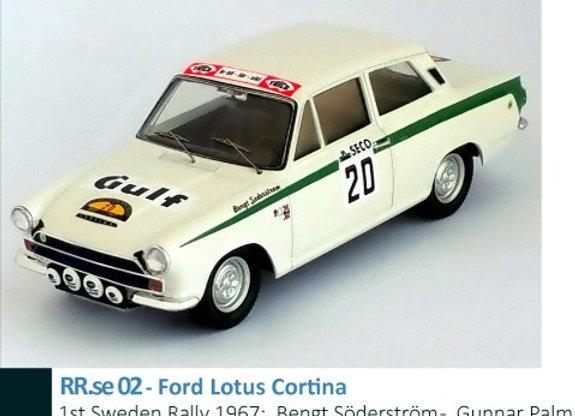Ford Lotus Cortina - 1st Sweden Rally 1967:  Bengt Söderström -  Gunnar