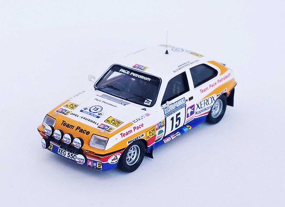 Vauxhall Chevette HSR - 6th 1000 Lakes Rally 1982: Russell Brookes / Ronan Morga
