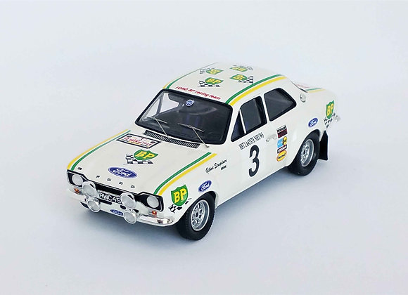 Ford Escort Mk1 RS2000 - 1st Ypres Rally 1972: Gilbert Staepelaere / André Aerts