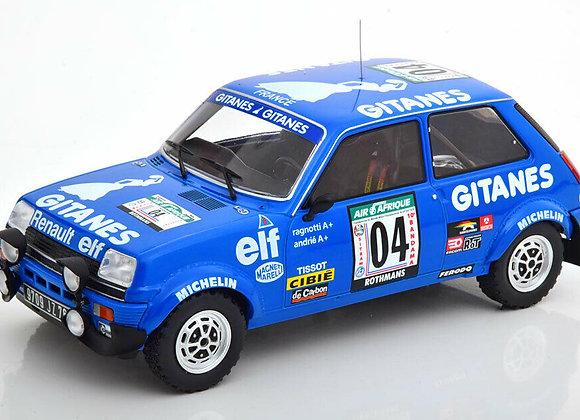 Renault 5 Alpine #04 J. Ragnotti / Andrie Rally Bandama 1978