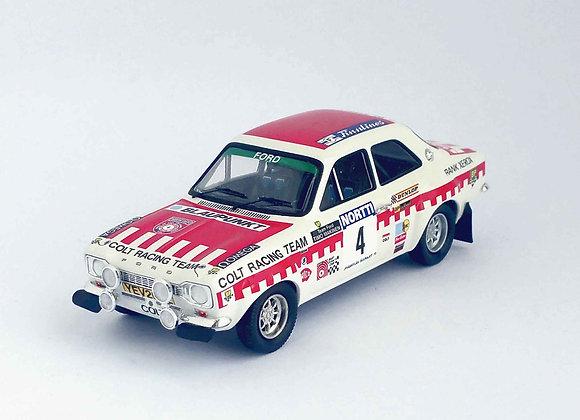 Ford Escort Mk1 - 1st 1000 Lakes Rally 1973: Timo Makinen / Henry Lidd