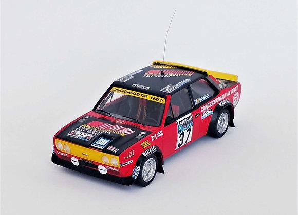 RUK65 Fiat 131 Abarth-RAC Rally 1979 Luigi Battistolli (Lucky)/Fabrizia Pons