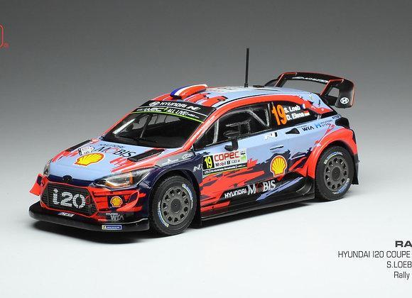 Hyundai i20 Coupe WRC Sebastien Loeb / Daniel Elena Chille Rally 2019
