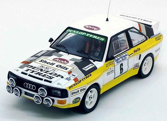 Audi Sport quattro - Manx Rally 1985: Malcolm Wilson/Nigel Harris