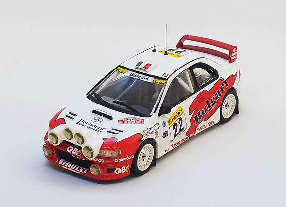 RRfr13Subaru WRC - Monte-Carlo 1999: Andrea Dallavilla / Danilo Fappani