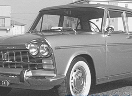 Fiat 2300, white/red, 1965