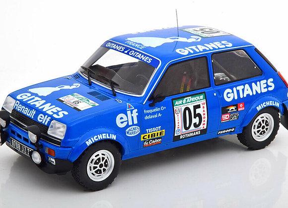 Renault 5 Alpine #05 Frequelin / Delaval Rally Bandama 1978