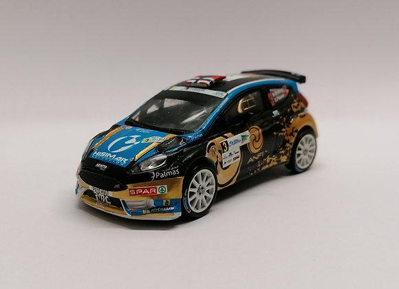 Ford Fiesta R5 Mads Ostberg Rally Islas Canarias 2016