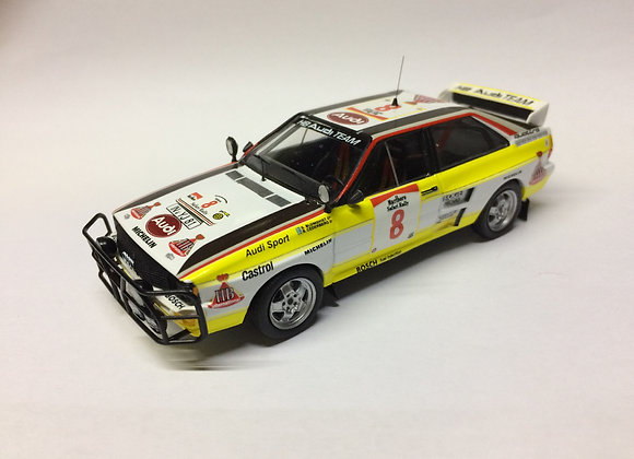Audi quattro-Safari R.84: #8,Stig Blomqvist (84 World Champion)