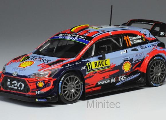 Hyundai i20 WRC, No.11, WRC, Rally Catalunya, T.Neuville/G.Gilsoul, 2019