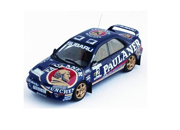 Subaru Impreza - 1st Sumava Rally 1997:Armin Kremer / Sven Behling