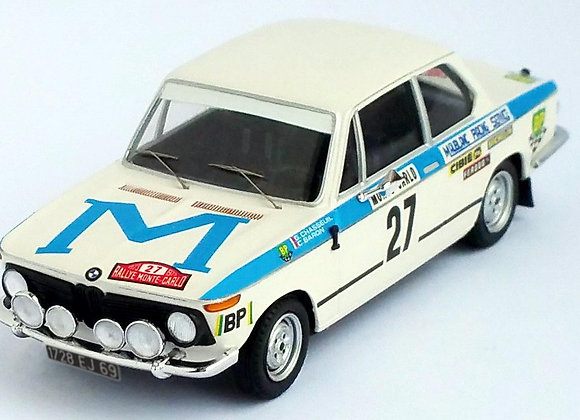 BMW 2002 ti - Monte-Carlo 1973: Guy Chasseuil / Christian Baron