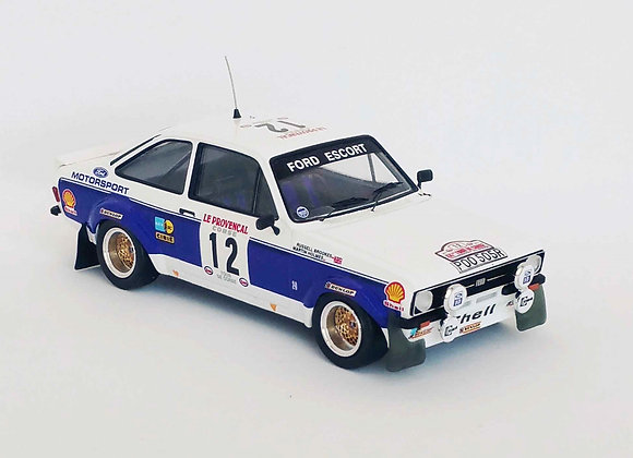 Ford Escort Mk2 - T. de Corse 1977: #12 Russell Brookes/M. Holmes