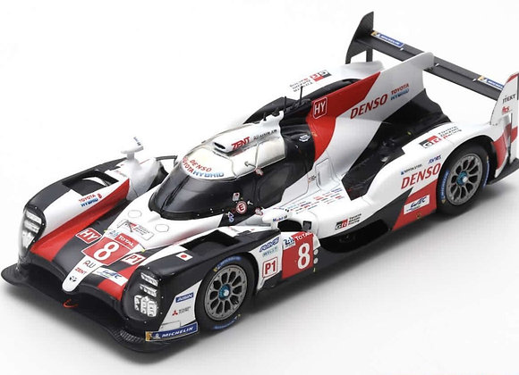 Toyota TS050 Hybrid #8 24h Le Mans 2019 S.Buemi/Nakajima/Alonso