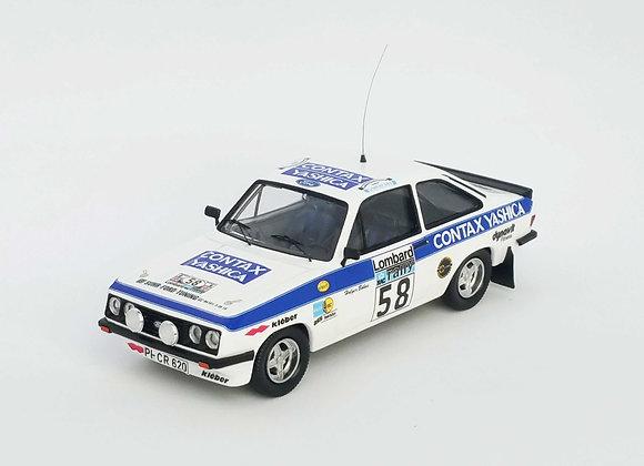 Ford Escort Mk2 RS2000 Holger Bohne / Peter Diekmann RAC Rally 1978