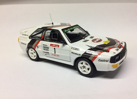 Audi Sport quattro - Metz Rally 1984: W. Röhrl / C. Geistdörfer