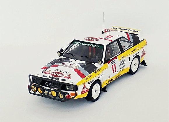 Audi Sport quattro -R.Safari 85: #11 Stig Blomqvist/B.Cederberg