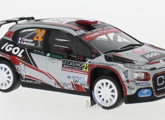 Citroen C 3 R5 #22 J.Bonato/B.Boulloud Rally Monte Carlo 2019