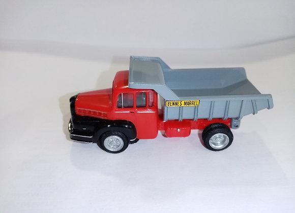 Camion UNIC Yzoar Benne Marrel noire/rouge HO