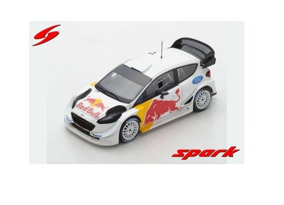 FORD FIESTA WRC TEST CAR 2018 OGIER